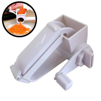 Kitchen Hand Rotating Cheese Grater Rotary Ginger Slicer Graters Kitchen Gadget 2017ing