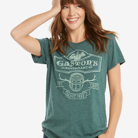 Disney Beauty And The Beast Gaston's Tavern Womens Tee - BoxLunch Exclusive