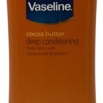 Vaseline® Cocoa Butter Deep Conditioning Body Lotion 10 oz Case Pack 3
