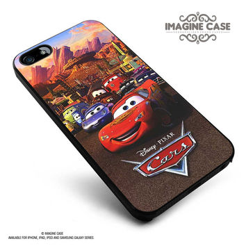 Cars Lightning McQueen Piston Cup championship 1 case cover for iphone, ipod, ipad and galaxy series