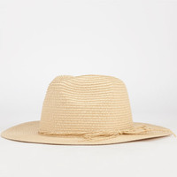 Straw Womens Panama Hat Natural One Size For Women 24602942301