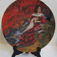 Rob Sauber Fine China Collectors Plate Limited Edition How Do I Love Thee