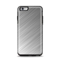 The Silver Brushed Aluminum Surface Apple iPhone 6 Plus Otterbox Symmetry Case Skin Set