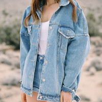 Women Grils Denim Jacket