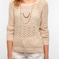 Staring at Stars Marled Mix Stitch Sweater