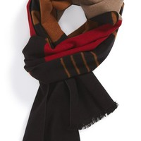 Women's Chelsey Variegated Stripe Silk Muffler