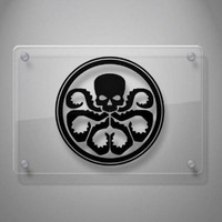 Hydra Inspired Marvel Agents of Shield Decal Sticker for Car Window, Laptop, Wall, Room