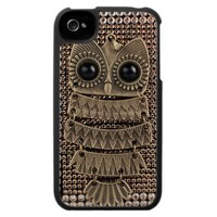 Cute Owl iPhone 4 Case from Zazzle.com