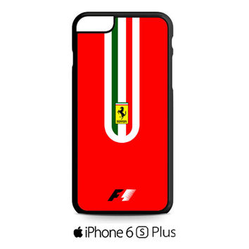 Fernando Alonso F1 Ferrari Scuderia Team iPhone 6S  Plus  Case