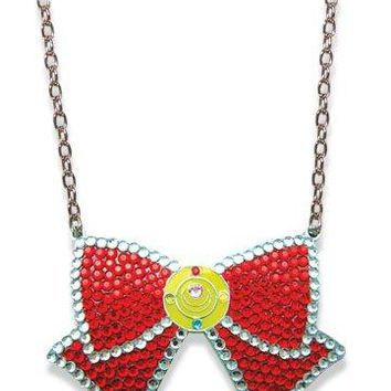 Sailor Moon: Jewled Ribbon Necklace