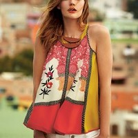 Jardin Swing Tank by Vineet Bahl Pink