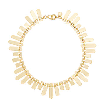 Marc by Marc Jacobs Jewelry Women's Plaque Collar Necklace - Gold