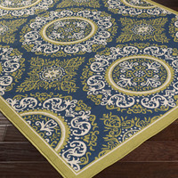 Marina Area Rug |  Medallion and Damasks Rugs Machine Made | Style MRN3029