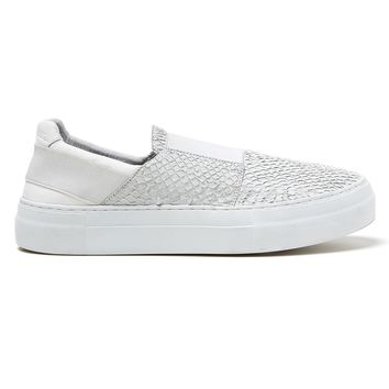 HELMUT LANG WASHED SCALE SLIP-ON SNEAKER
