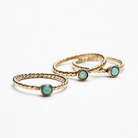 Free People Before Sunrise Opal Ring Set