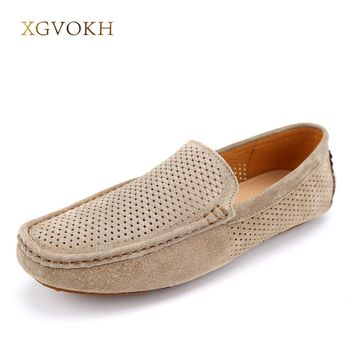 Genuine Leather Mens Loafers
