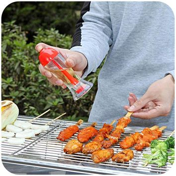 Gravy Boats Spray Pump Barbecue Oil Sprayer Spraying Oil Bottle Kitchen Accessories Cooking Gadget BBQ Tools