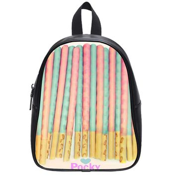 Love Pocky School Backpack Large