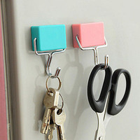 Super Suction Magnetic Hooks To Hang Free Microwave Refrigerator Trace Nail HU