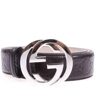 Gotopfashion Gucci Belt Sz. 100 Leather MADE IN ITALY Man Browns 411924CWC1N -2140 PUT OFFER