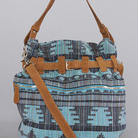 The Agustin Bag in Teal Mexican BlanketExclusive : Jeffrey Campbell Handbags : karmaloop.com - Global Concrete Culture