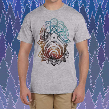 hamsa hand bassnectar design for tshirt