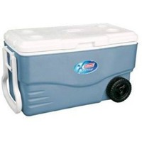 Coleman 100-Qt. Wheeled Cooler with 2 Lounge Chairs - Walmart.com