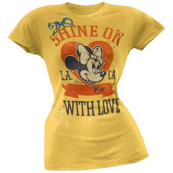 DCCKIS3 Minnie Mouse - Shine On Juniors T-Shirt