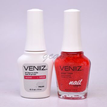 Veniiz Match UV Gel Polish V034 Accent Glitter