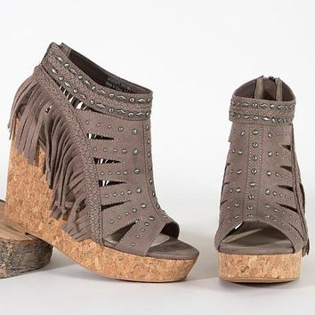 Not Rated Frolic In Fringe Sandal