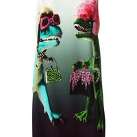 Moschino Cheap & Chic dinosaur print shift dress