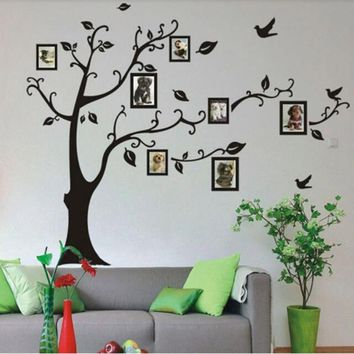 New wall stickers for kids room decorations Frame Tree Wall Stickers Vinyl Home Stickers XT