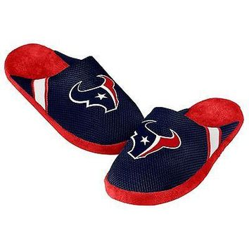 Texans Jersey Mesh SLIDE SLIPPERS New -   - Houston Texans