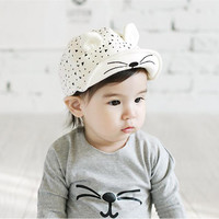 Cat Shape Cap for Baby