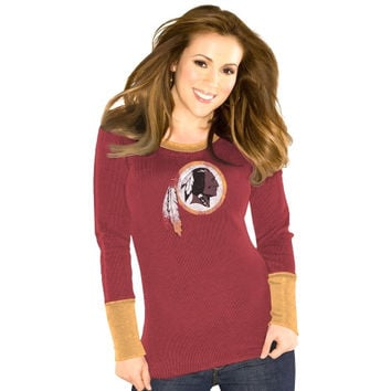 Washington Redskins Touch by Alyssa Milano Ladies Kari Thermal – Burgundy