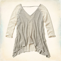 North Jetty Drapey Knit Top
