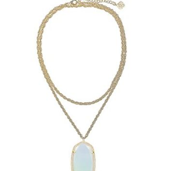Rae Necklace in White Iridescent - Kendra Scott Jewelry
