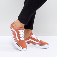 Vans Old Skool Unisex Trainers In Orange at asos.com