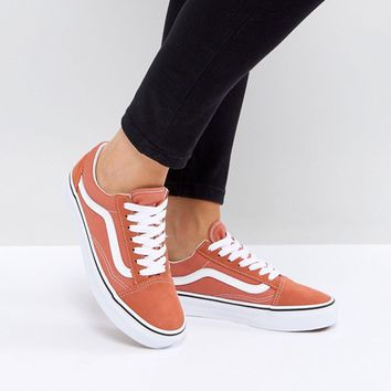 Vans Old Skool Unisex Sneakers In Orange at asos.com