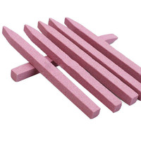 1 Pcs Pink Stone Nail Files Cuticle Remover Trimmer Buffer Buffing Nail Art Pedicure & Manicure Tools