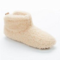 CHEN1ER UGG Amary Bootie Slippers Shoes 1011726 at BareNecessities.com