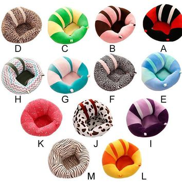 Colorful Cotton Baby Pillow Legs Sofa