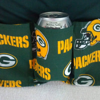 Green Bay Packer Tailgating Apron  6 Packer  6 Pockets by vw53