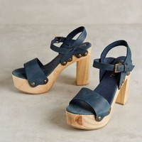 Cordani Five Worlds Platform Clogs Blue