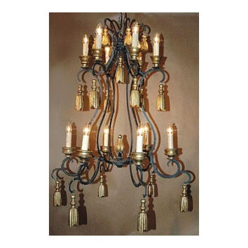 Twelve Candle Chantilly Chandelier