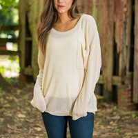 Always And Forever Sweater, Oatmeal