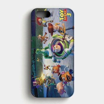 Toy Story Series 3 iPhone SE Case