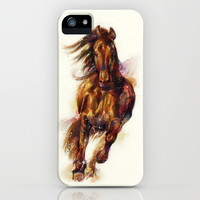Horse iPhone & iPod Case by beart24