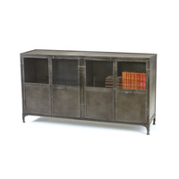 Chandler Industrial Style Console Table