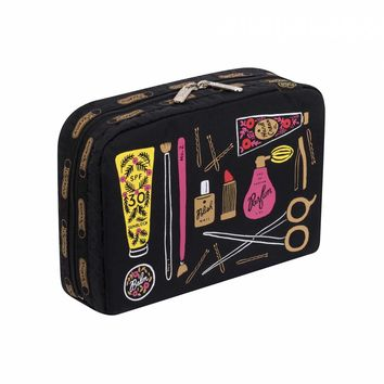 XL Rectangular Cosmetic Beauty Print by LeSportsac | Imported